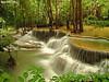 Mae Khamin Waterfall, Thailand (Tiniroma ^^) Tags: park blue green water rock forest canon landscape thailand waterfall asia view falls national waterfalls retouching gledhill supershot 60d longexposurea skuringgai