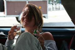 Bubblefun (Peter Keijenberg) Tags: para transport citroen ds oldtimer frankrijk autos personen soulacsurmer irenevanginkel