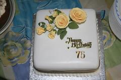 75th Birthday Cake (fionakscakes) Tags: birthday men sport 40th football team women adult 21st 18th celebration christening 30th 50th essex 70th 20th 60th hornchurch romford