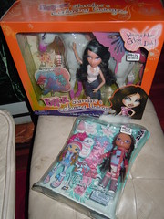 12/29/11 Shopping! :D (alexbabs1) Tags: winter vacation fashion movie dolls glowing yasmin unicorn kidz starz bratz the pixiez sharidan