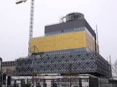 The Library of Birmingham - Broad Street (ell brown) Tags: greatbritain england birmingham unitedkingdom crane constructionsite buildingsite westmidlands birminghamuk mecanoo broadst centenarysquare mecanooarchitecten libraryofbirmingham thelibraryofbirmingham