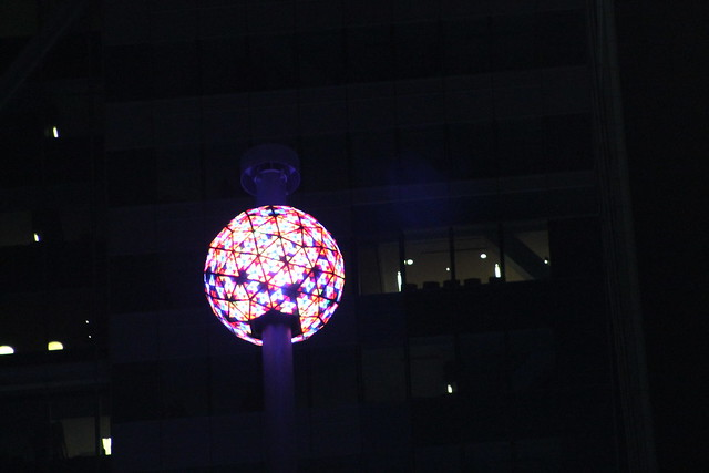 Times Square Ball Drop Test