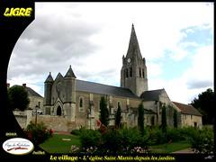 20100715-Ligré_036 (michel.cansse) Tags: france centre richelieu indreetloire paysdeloire glise ligré