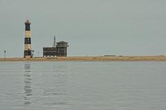 ((qifei)) Tags: ocean winter lighthouse reflection water faro acqua inverno namibia oceano riflesso swakopmund flickraward