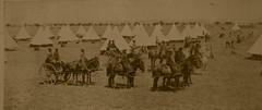 Boer War Police Camp Mafeking (ART NAHPRO) Tags: camp boer war police mounted 1900 mafeking