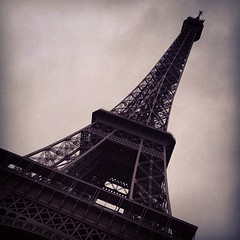 #eiffel #2012 #paris (Sulaiman_Q8) Tags: square sulaiman alsalahi iphone4s