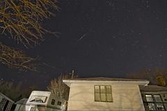 Twins (vk757) Tags: christmas night stars photography nikon shadows maine newyear tokina shootingstars 2012 startrails meteors rumford shootingstar d90 1116mm