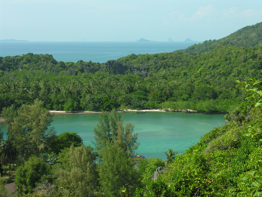 From the viewpoint, Ko Tarutao, Satun, Thailand