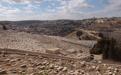 Mount of Olives, Jerusalem (View towards South-West)