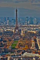 Paris (swissgoldeneagle) Tags: paris france frankreich toureiffel eiffelturm defense hdr d700