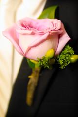 His boutonnière (Mindubonline) Tags: wedding church cake groom bride tn nashville tennessee ceremony marriage reception bouquet nuptials mindub mindubonline timhiber