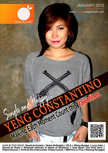 January 2012 Cover (Yeng Constantino)