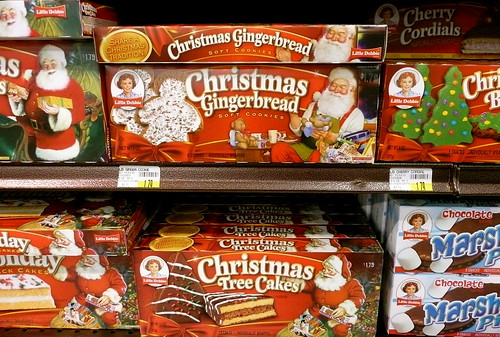 Little Debbie Christmas Tree Cakes And Christmas Gingerbread Soft