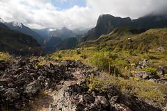 Grand Place Les Hauts - Mafate - Reunion Island - Sylvain Brajeul (Sylvain Brajeul) Tags: mountain nature reunion montagne trekking landscape indianocean mafate randonnée laréunion reunionisland océanindien îledelaréunion sylvainbrajeul