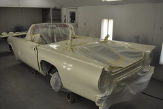 """1957 Ford Thunderbird E Code Dual Quad 312 • <a style=""""font-size:0.8em;"""" href=""""http://www.flickr.com/photos/85572005@N00/6703474369/"""" target=""""_blank"""">View on Flickr</a>"""