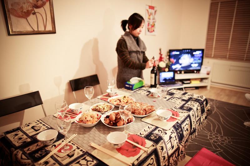 Chen Jie home dinner 010