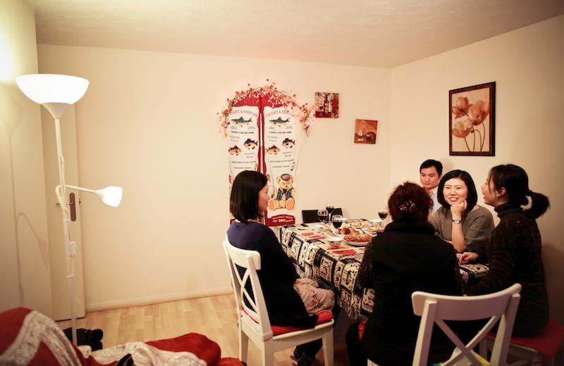 Chen Jie home dinner 018