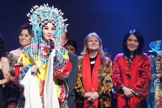 Beijing Opera Singer, Vancouver Spring Show 2012 温哥华欢乐春节晚会Celebrates the Chinese New Year (The Dragon龙年) at The Centre on Jan 15, 2012