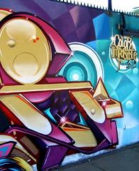 E (COLOR IMPOSIBLE CREW) Tags: zade fros color imposible crew 2011 graffiti viña del mar chile painters