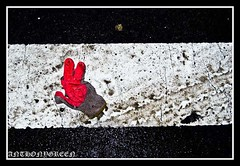 2009 Feb 04 104_edited-2 (bigbuddy1988) Tags: road street city nyc winter red wild usa white ny newyork abstract black color art strange digital america wow wonderful wonder outside outdoors photography photo interesting nikon flash sb600 picture dirty dirt what glove strobe d80