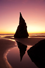 Last Light II - Bandon, Oregon (smacdaddy (Scott MacInnis)) Tags: ocean pink light sunset shadow red sea sky orange abstract black color detail reflection art classic scale nature colors beautiful lines yellow oregon america reflections landscape gold mirror golden coast sand rocks colorful pretty glow quiet shadows natural dusk fineart fine creative scenic shapes peaceful calm coastal american lone americana rps dreamy layers unusual bandon balanced flickrduel mygearandme mygearandmepremium mygearandmebronze mygearandmesilver mygearandmegold mygearandmeplatinum mygearandmediamond