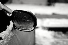Frozen Mirror (J.PerkProductions) Tags: winter snow cold ice winterweather freezingweather baltimoresnow jperkproductions eightpspi