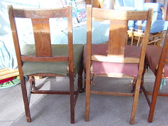 Dining chairs - backs (RoystonS) Tags: freecycle