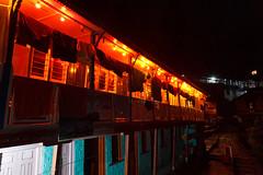 A typical teahouse in the Annapurna region (Michał Olszewski) Tags: nepal asia land teahouse himalayas guesthouse acap gandaki kaski commercialbuildings annapurnaconservationarea annapurnaconservationareaproject tikhedhungga