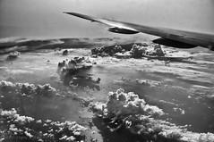 _DSC1545-Edit.jpg (wangxu94) Tags: sky blackandwhite bw clouds plane landscape flying wing aeroplane airtravel
