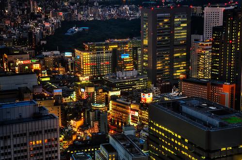 Lights on, Tokyo!