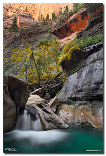 Orderville Canyon Falls, Zion NP, UT