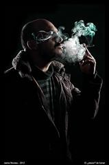 El ¿placer? de fumar (melderomero.com) Tags: nikon smoke smoking poison fumar plaisir tobacco pleasure placer tabaco veneno cigarrette selfy cigarrillo fumador fumando selfies 18105mm sb900 yongnuo d7000 yn460 melderomerocom