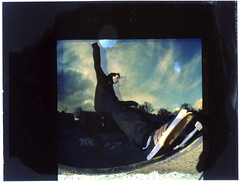 (benjaminbostock) Tags: slash 35mm polaroid fuji fisheye bronica skate sq strobe flashes scouse mashlife