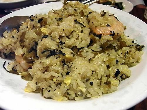 パオ愛宕店〜高菜と海老の炒飯