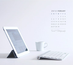 February Calendar (Faisal | Photography) Tags: life white art coffee canon eos still unique style usm ef 2470mm 50d ography canoneos50d canon2470mmf28lusm februarycalendar faisal|photography فيصلالعلي ipad2