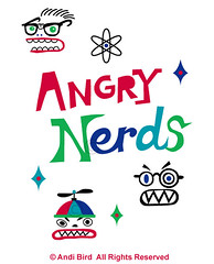 Angry Nerds graphic (birdarts) Tags: illustration typography cool funny tech it geeks nerds siliconvalley doodles lettering eyeglasses cartoons whitetshirt engineers dweebs cooltshirts zazzle printedtshirt handdrawntype angrynerds tshirtgraphics redbubble computertechs andibird computerprogramers