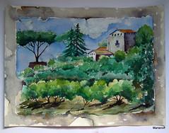 Lembrana de Roma (Marianoff) Tags: art watercolor painting arte aquarelle arts peinture acuarela pintura aquarel aquarela aquarell acquerello akvarell akwarela marianoff