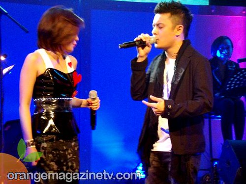 Yeng Constantino and Paolo Valenciano