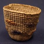 "<b>Spruce Root Basket</b><br/> Ida Hopkins Kadashan Spruce Root Basket Ivory, ca. 1976 LFAC #2008:01:45<a href=""http://farm8.static.flickr.com/7001/6835903703_4264cddee7_o.jpg"" title=""High res"">∝</a>"