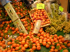 Market Fruits (David K. Marti) Tags: market paris fruit oranges grapes peaches sale business carton basket city street flickrstruereflection1 flickrstruereflectionlevel1 france europe european travel tourism urban nature natural outdoor outdoors color colorful colored colour colourful yellow red reds store product produce sell selling shop shopping detail structure structural life nikon coolpix s210
