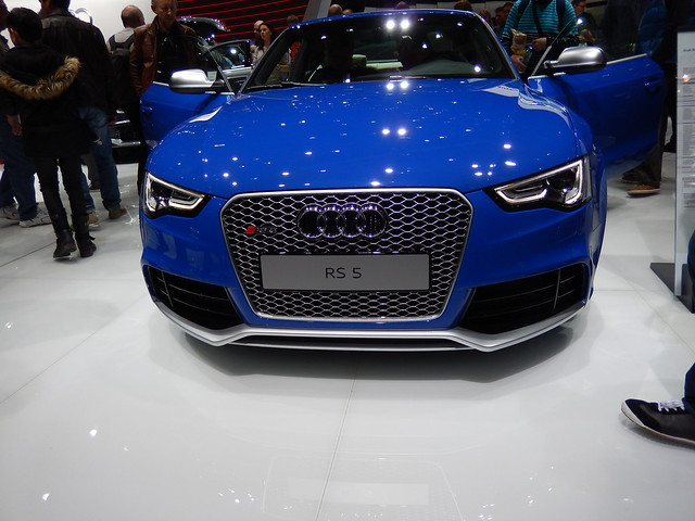 blue white geneva 5 audi rs 2014 rs5