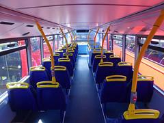 GAL MHV17 - BU16OZE - INTERIOR - BV BUS GARAGE - THUR 28TH APR 2016 H (Bexleybus) Tags: bus london ahead volvo interior garage go egyptian belvedere bv bodywork mcv goahead evoseti mhv17 bu16oze