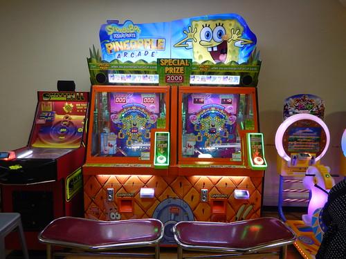 Spongebob Squarepants Pineapple Arcade