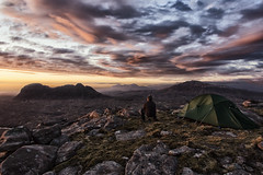 Wild Camping in Assynt (bradders29) Tags: sunset clouds scotland tent highland suilven assynt wildcamp quinag culmor grahambradshaw