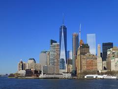 New York, NY One World Trade Center (army.arch) Tags: nyc newyorkcity ny newyork skyline downtown skyscrapers worldtradecenter lowermanhattan oneworldtradecenter