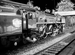 Midnight Express (Sir Hectimere) Tags: steamlocomotives britanniaclass