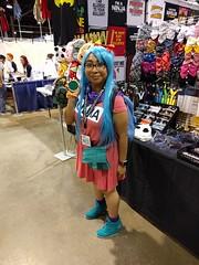 Bulma! (blueZhift) Tags: anime comics costume illinois cosplay manga rosemont videogames convention dragonball dragonballz acen 2016 dbz animecentral bulma