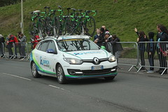 Orica (Steve Dawson.) Tags: road uk england race canon eos is 1st yorkshire may bikes cycle tdy finish scarborough usm ef28135mm seafront sprint uci peloton spares 2016 orica f3556 50d ef28135mmf3556isusm canoneos50d teamcars tourdeyorkshire