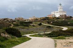 Road to the lighthouse (Hengelo Henk) Tags: sardegna sea italy water landscape rocks sardinia outdoor capo italie testa mediterranee sardini