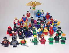 Lego Justice League (Freakzz) Tags: justice dc lego fig superman batman minifig dccomics custom greenlantern league justiceleague legominifig dcuniverse new52 legocustom legosuperheroes legodc onlinesailin poppunkmunky legojusticeleague